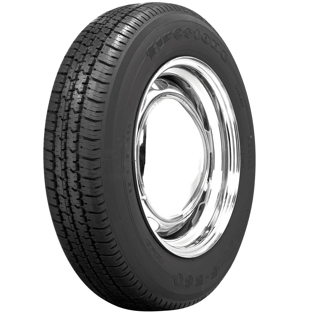 Firestone F560 Radial Tire | 155R15